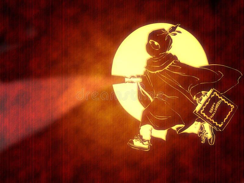 Enfant de lanterne illustration libre de droits
