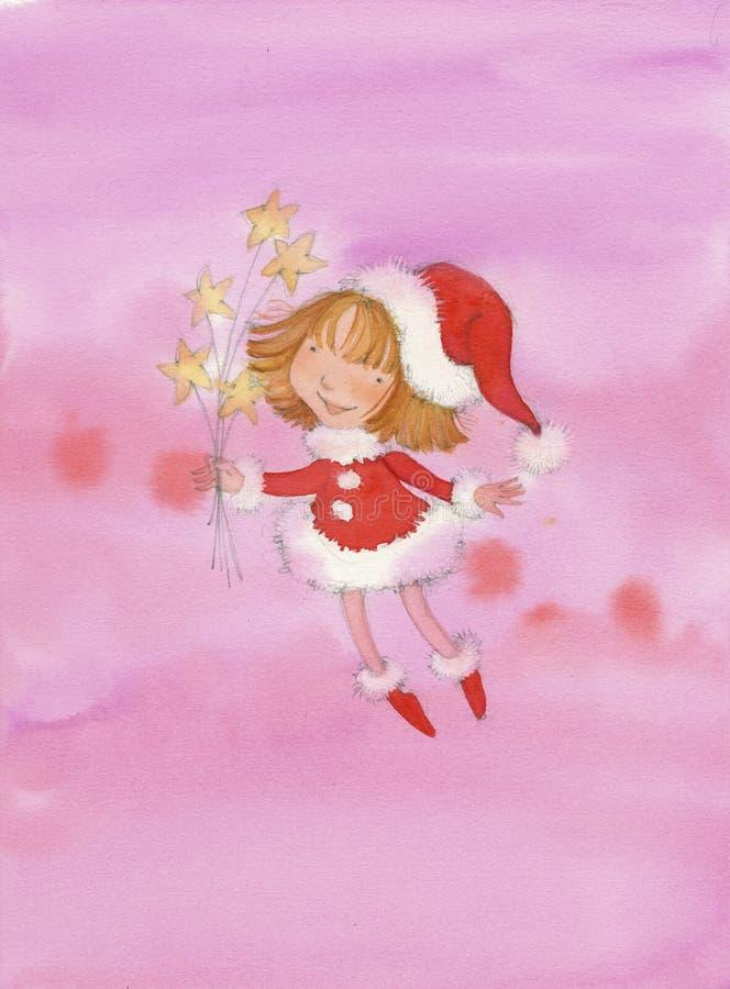 Enfant de Noël d'enfant de Noël photo libre de droits