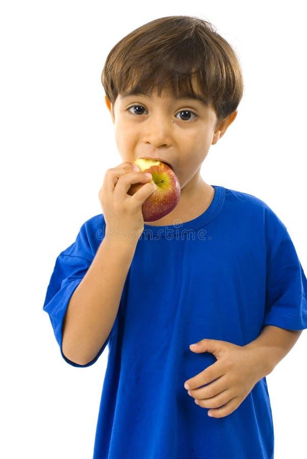enfant de pomme photographie stock libre de droits