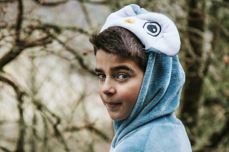 Enfant de portrait déguisé photographie stock libre de droits