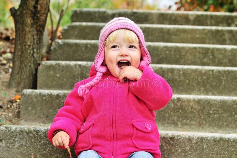 Enfant drôle photographie stock libre de droits