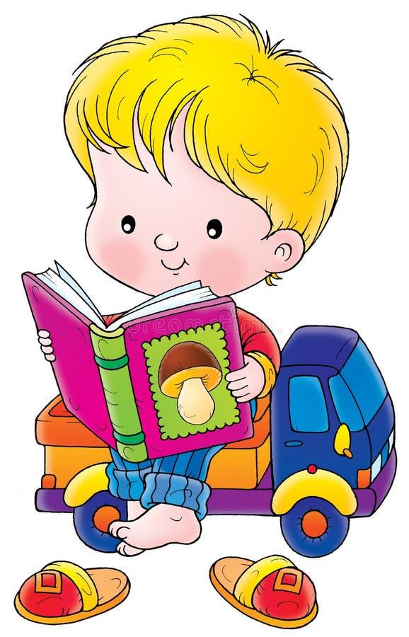 Enfant en bas âge illustration de vecteur