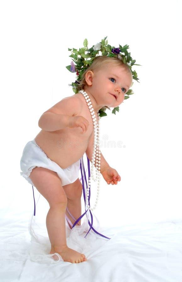 Enfant en bas âge de danse images stock