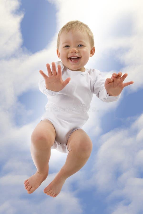 Enfant en bas âge heureux photos libres de droits