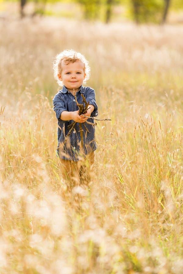 Download Enfant en bas âge mignon photo stock. Image du garçon - 45355804