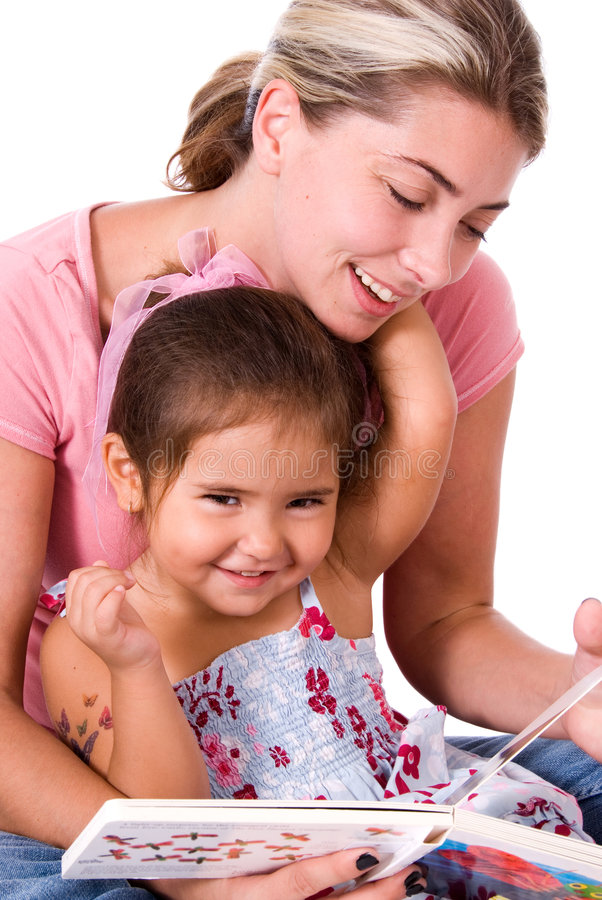 Enfant et maman mignons. photos stock