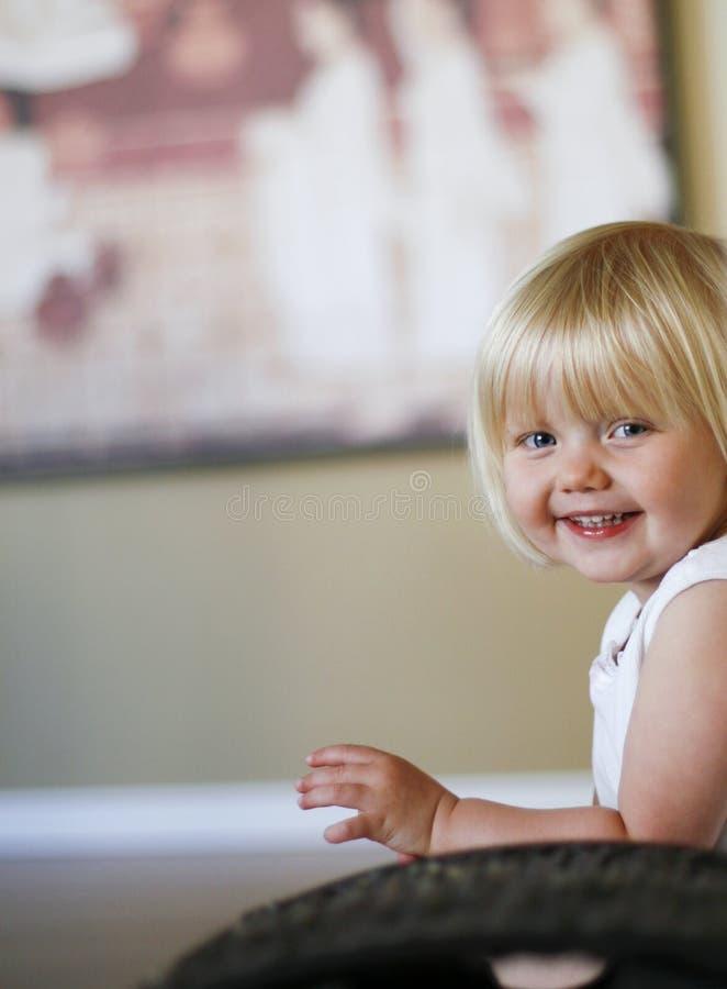 Enfant féminin mignon photos stock