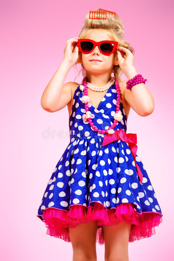 Enfant fascinant photo stock