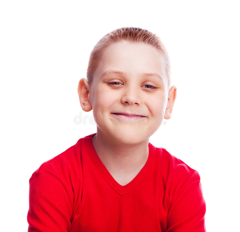 Enfant heureux photo stock