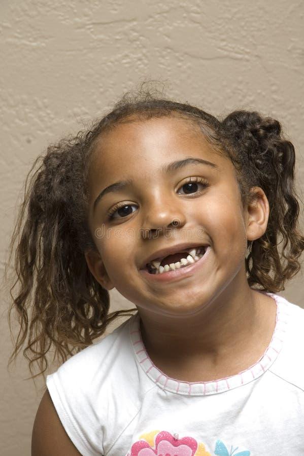 Enfant mignon d'afro-américain image libre de droits