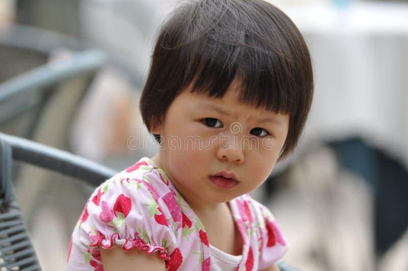 Enfant mignon de Chinois images libres de droits