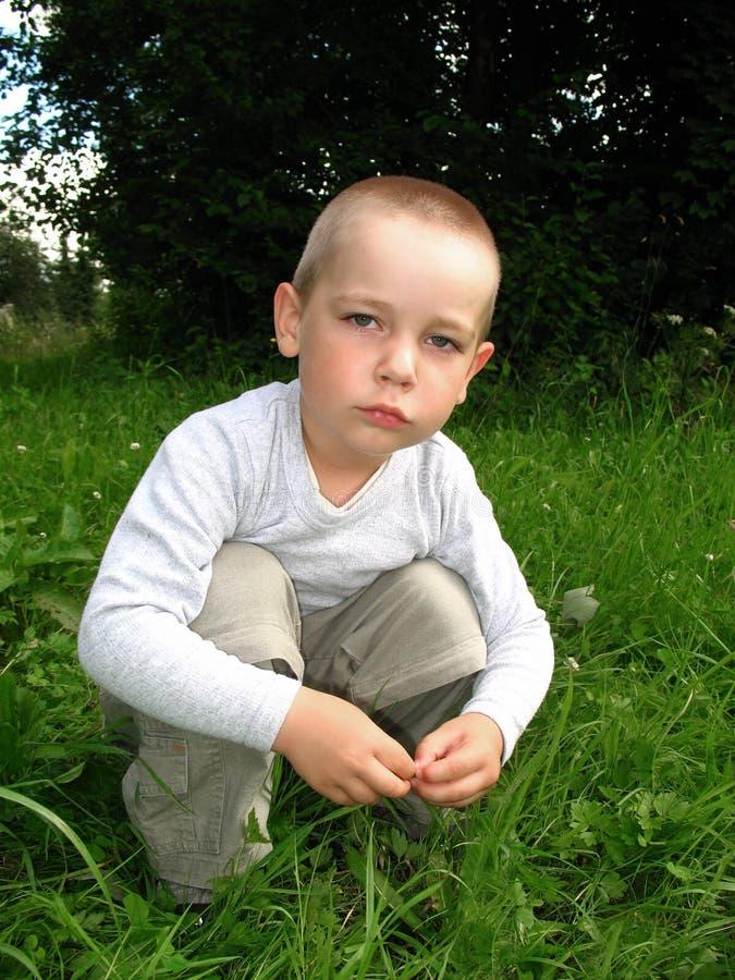 Enfant perdu photographie stock libre de droits