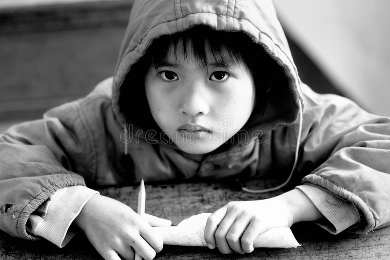 Enfant rural chinois photos libres de droits