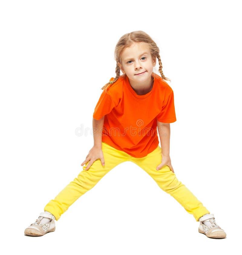 Enfant sur le blanc photographie stock libre de droits