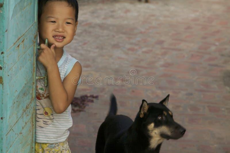 Enfant vietnamien photo libre de droits