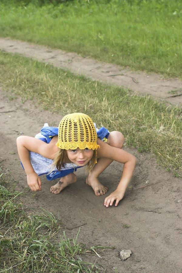 Enfant vilain photo libre de droits