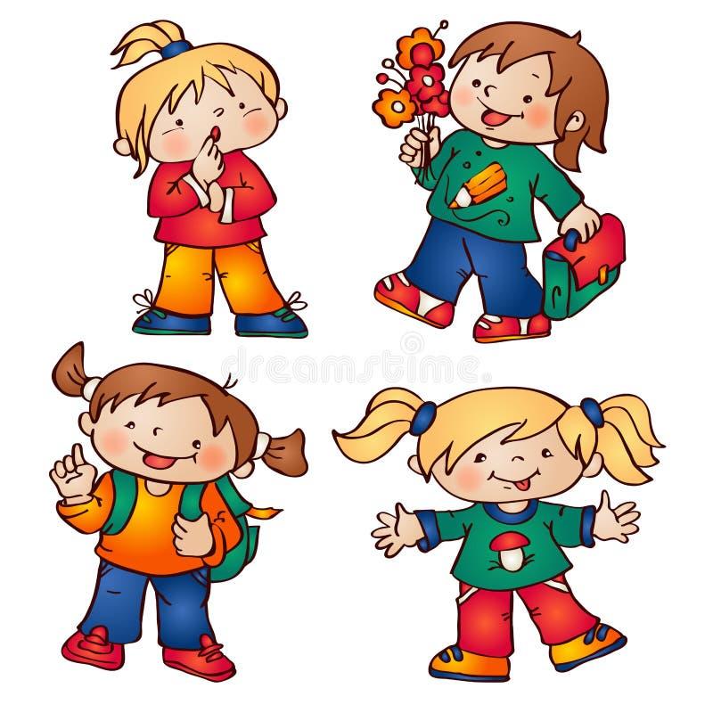 Enfants illustration libre de droits