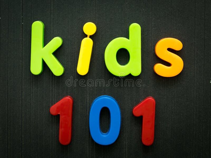 Enfants 101 photographie stock libre de droits