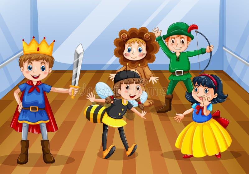 Enfants illustration stock