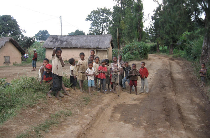 Enfants africains images libres de droits