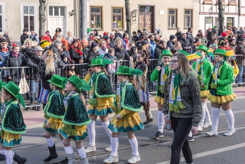 Enfants au carnaval image libre de droits