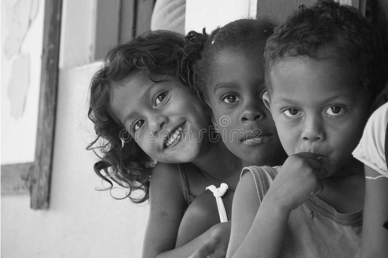 Enfants brésiliens photographie stock libre de droits