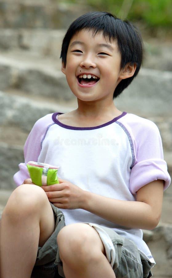 enfants chinois heureux photo libre de droits