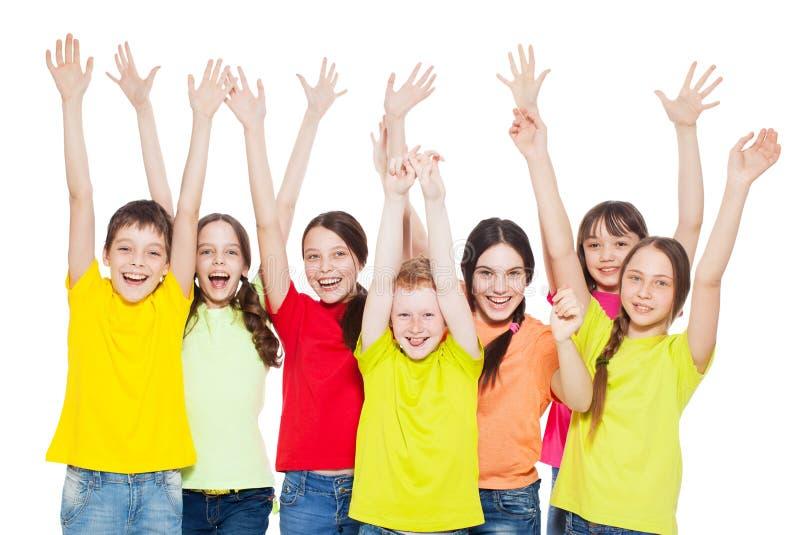 Enfants de groupe photo stock
