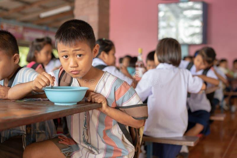 Enfants de Karen d'école de Banbongtilang image stock
