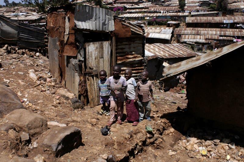 Enfants de l'Afrique images stock