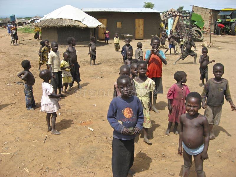 Enfants de l'Ouganda image stock