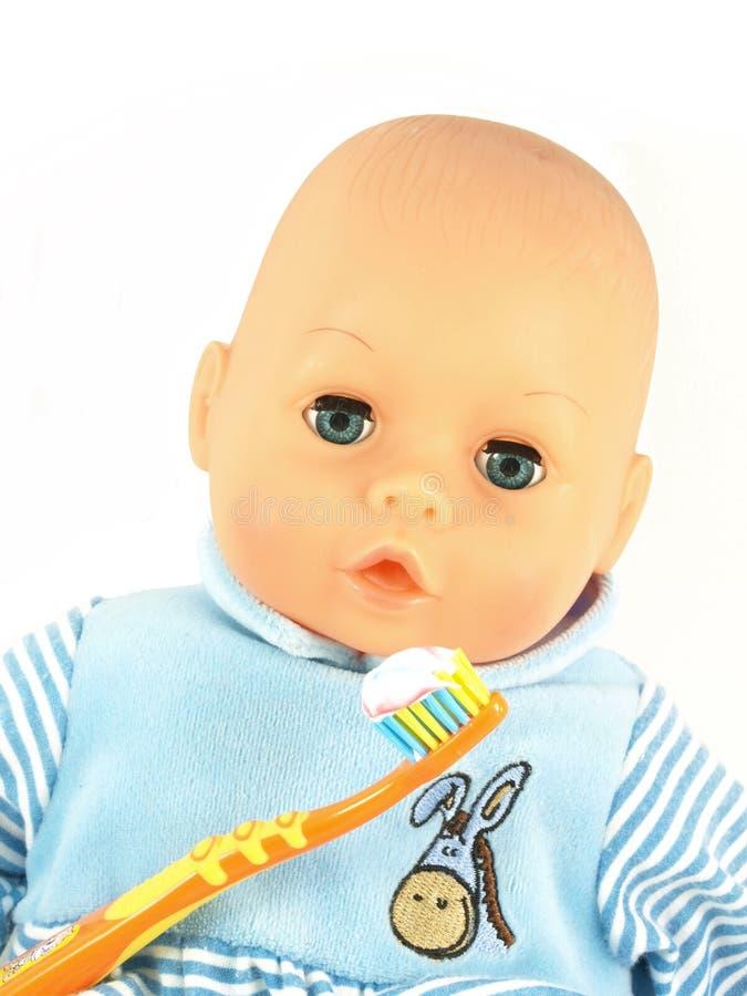 enfants de soin dentaires image stock