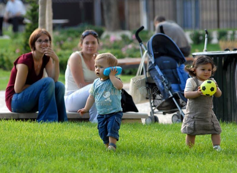 enfants för 1 colombes royaltyfri bild