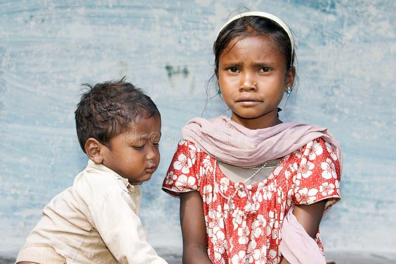 Enfants indiens image libre de droits