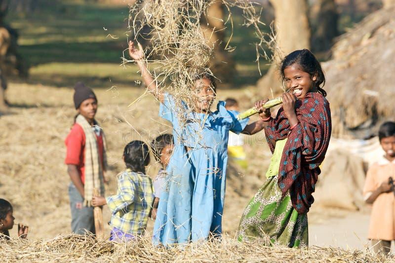 Enfants indiens photographie stock libre de droits
