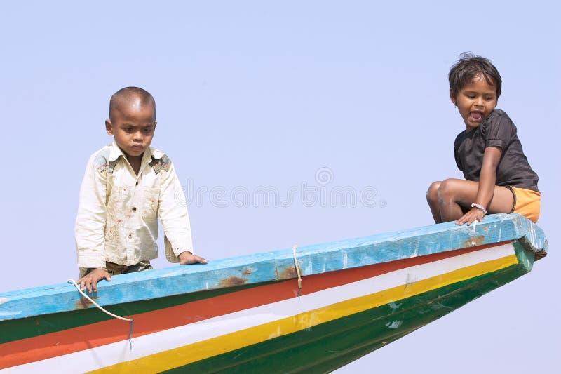 Enfants indiens photos libres de droits