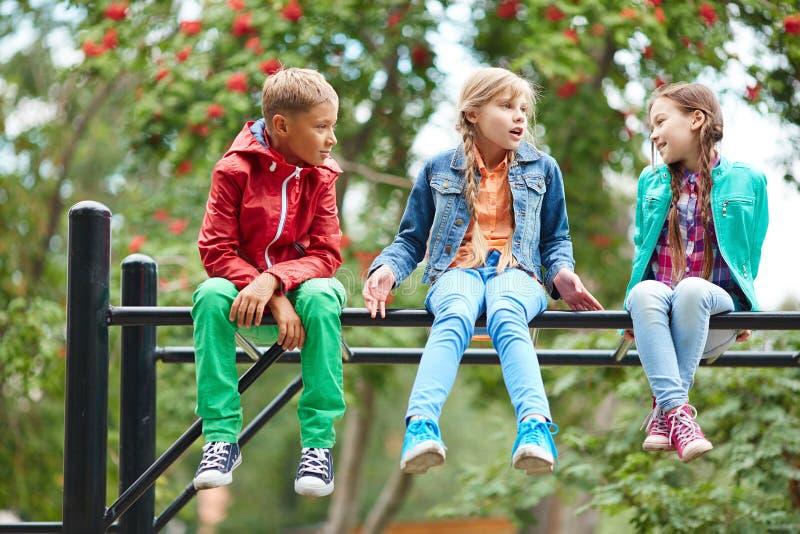Enfants insouciants images libres de droits