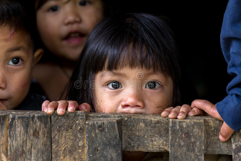 Enfants philippins photo stock