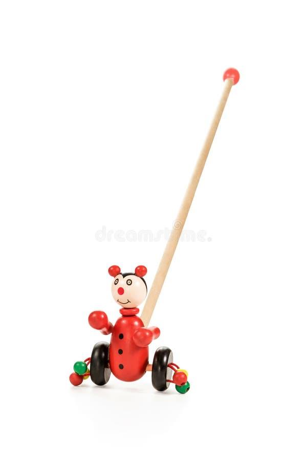 Enfants roulant des jouets image libre de droits