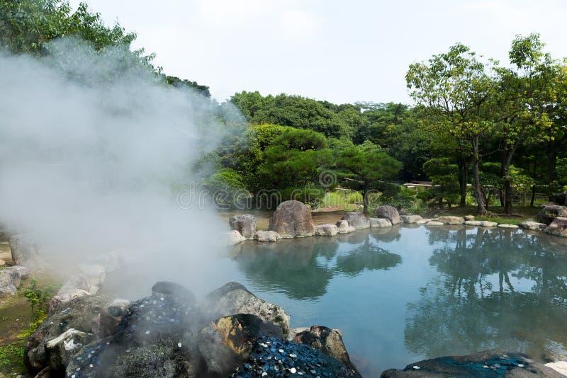 Enfer à beppu du Japon photo stock
