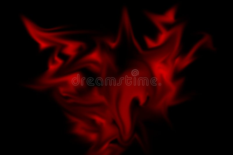 Enfer rouge images libres de droits