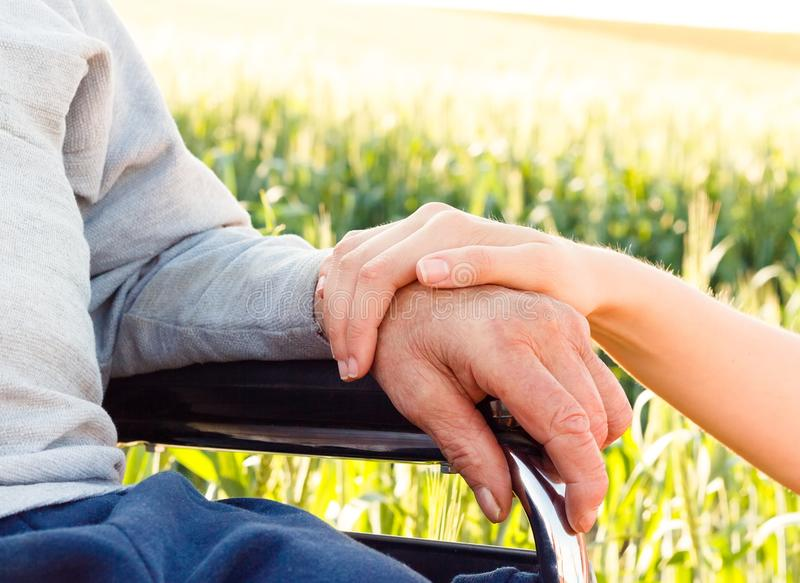 Enfermedad de Alzheimer fotos de archivo libres de regalías