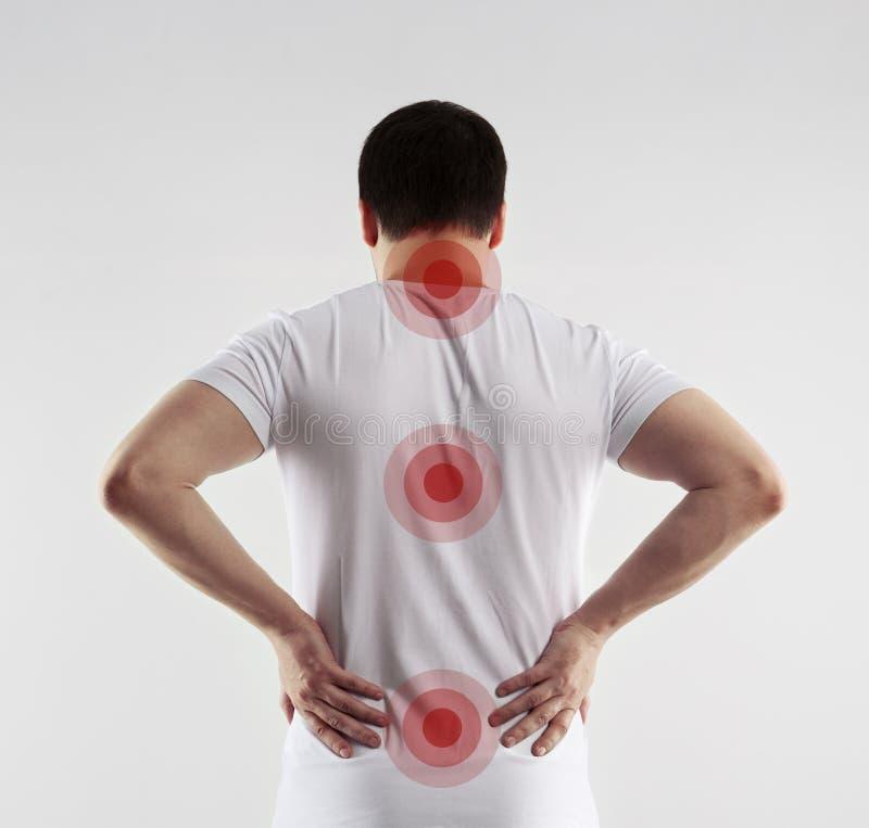 Enfermedad de la espina dorsal imagen de archivo