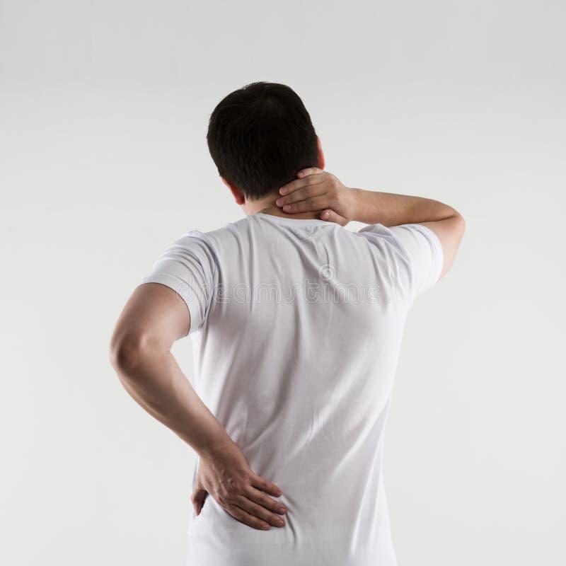Enfermedad de la espina dorsal imagen de archivo libre de regalías