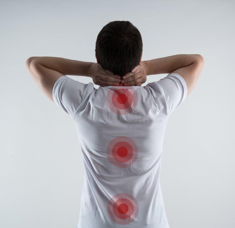 Enfermedad de la espina dorsal imagenes de archivo