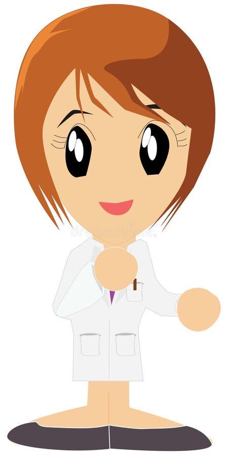Enfermeira asiática foto de stock royalty free