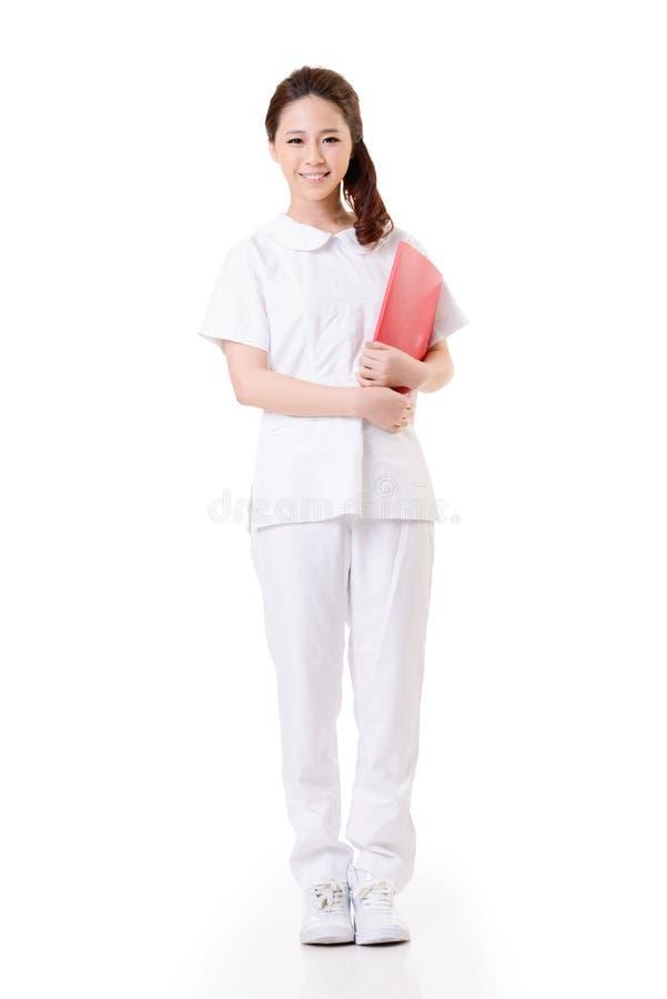 Enfermeira asiática imagens de stock royalty free