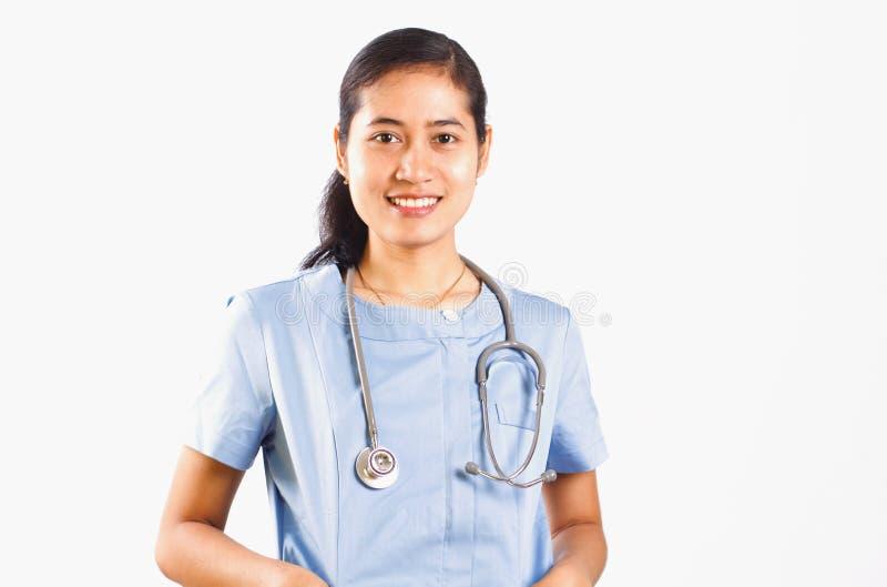Enfermeira asiática médica imagem de stock royalty free
