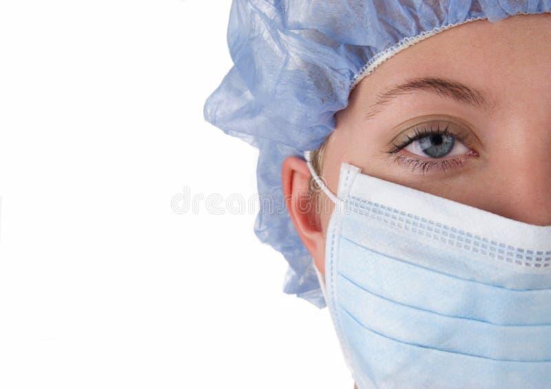 Enfermeira cirúrgica imagem de stock