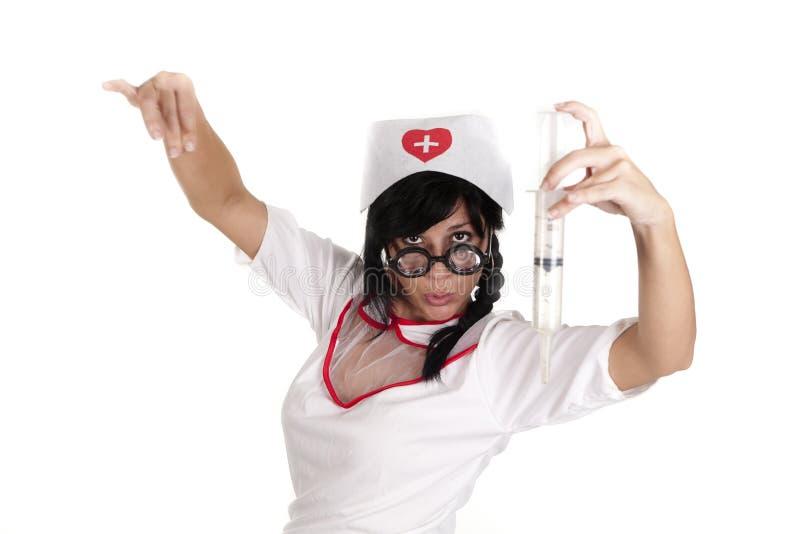 Enfermeira do toureiro imagens de stock